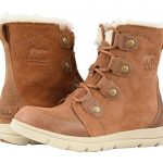 SOREL Explorer Joan Women's Lace-up Boots Camel Brown/Ancient Fossil