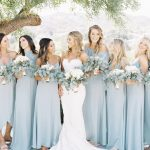 Show Me Your Mumu ~ Silver Sage Bridesmaid Dresses #mumuweddings #mumaids #sagew...