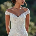 Sincerity - #44148 - Fitted lace bodice wedding gown with a dramatic tulle skirt...