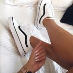Sneakers   Vans   White sneakers   Watch   Inspiration   More on Fashionchick