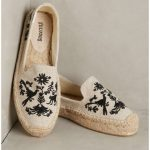 Soludos Shoes | Soludos Otomi Embroidered Platform Espadrilles | Color: Black/Ta...