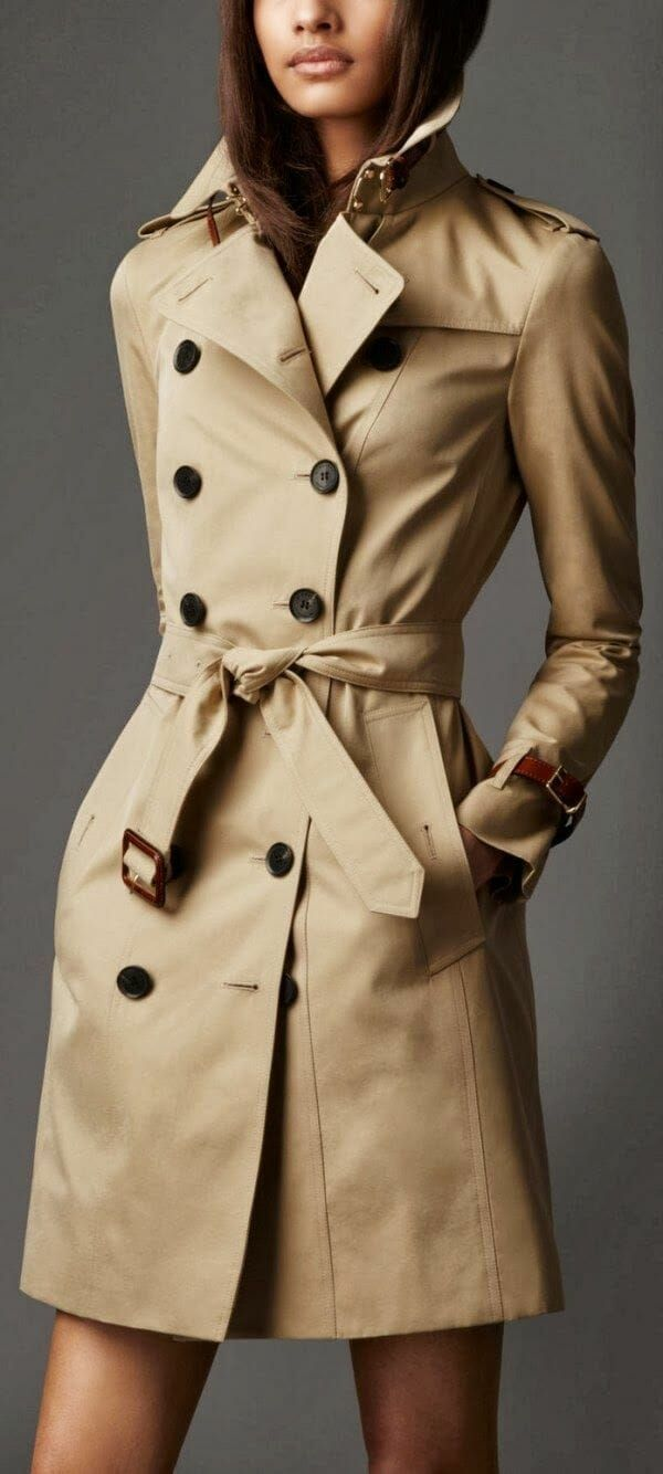 Steal The Real: Burberry Trench Coat Look Alike Brands