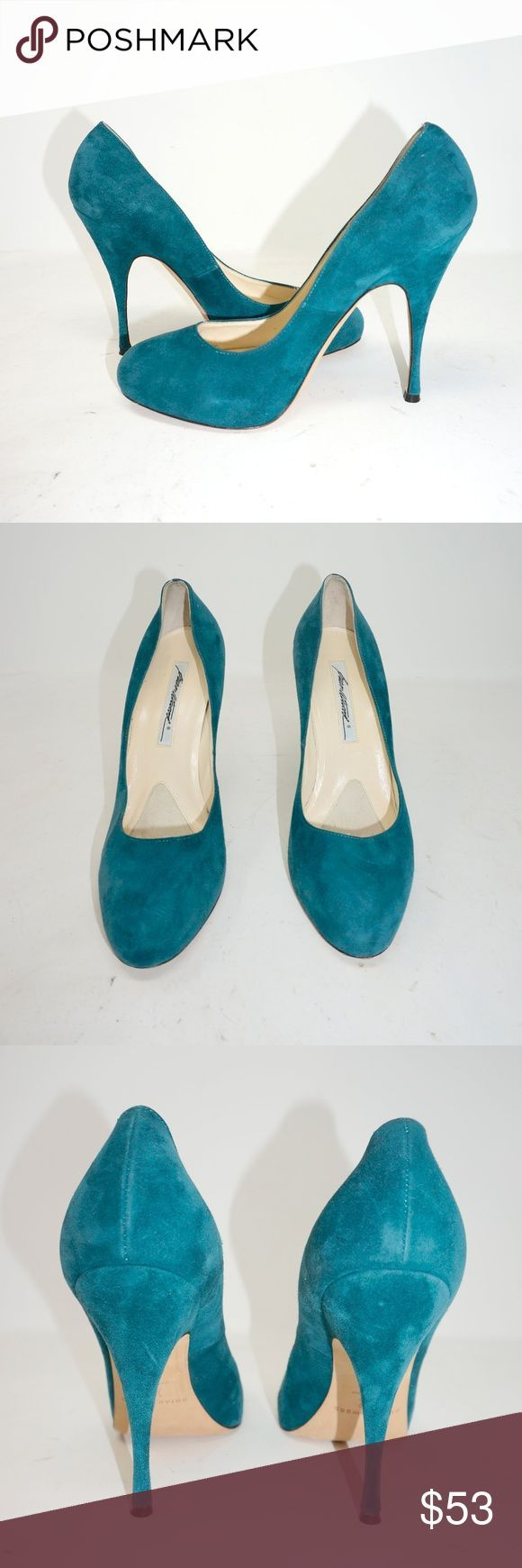 Suede Teal Brian Atwood Heels Suede Teal Heels, barely ever worn and in great co…,  #Atwood…