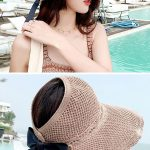Sweet Hollow Bow-Knot Summer Sun Hat#fashion#Sun Hat#Summer Hat