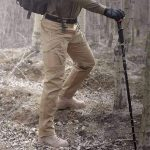 Tactical Waterproof Pants Mens - KHAKI / M