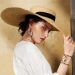 Tallulah Floppy Straw Hat