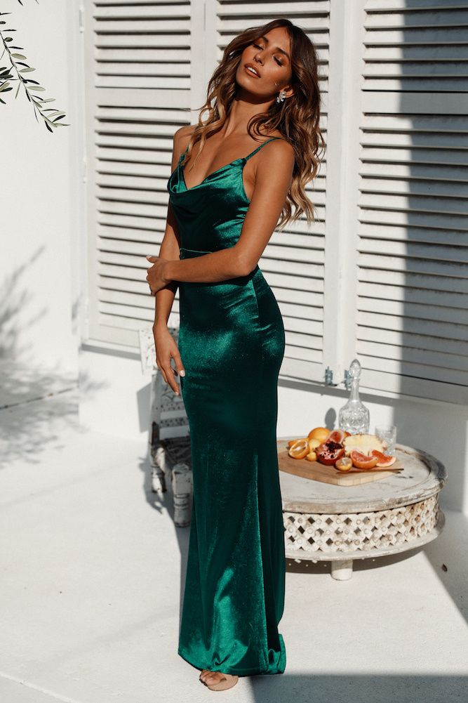 Test Of Time Maxi Dress Green