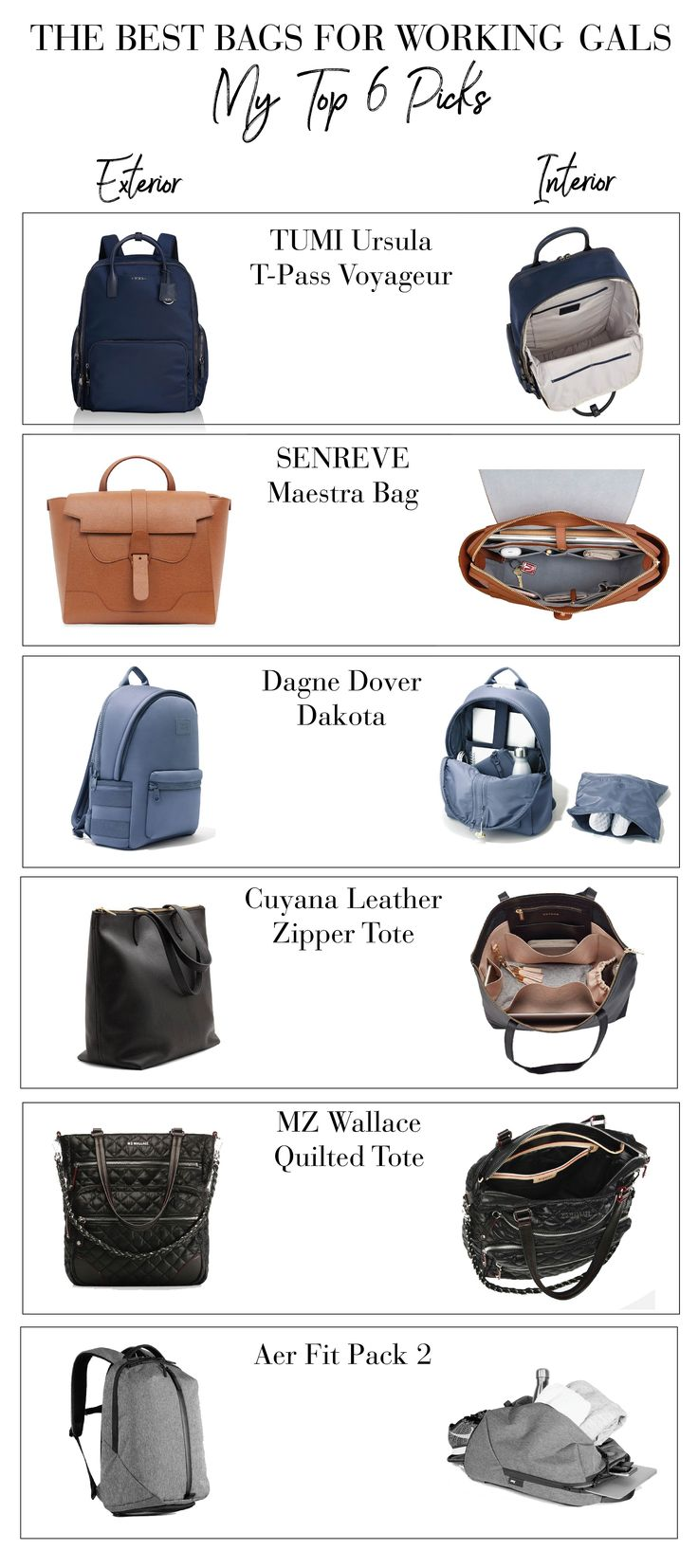 The Best Bags for Working Women