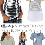 The Best Summer Nursing Friendly Fashion Finds On Amazon