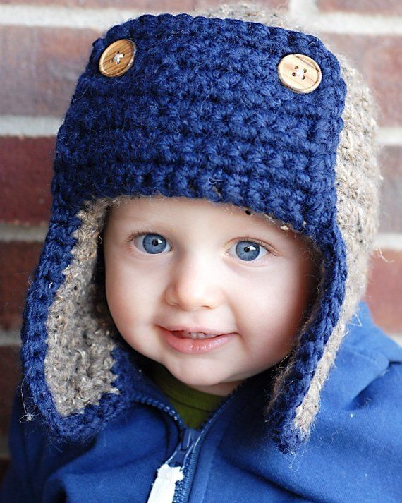 The Bomber Hat Crochet Pattern *Instant Download* (Permission to sell all finish…