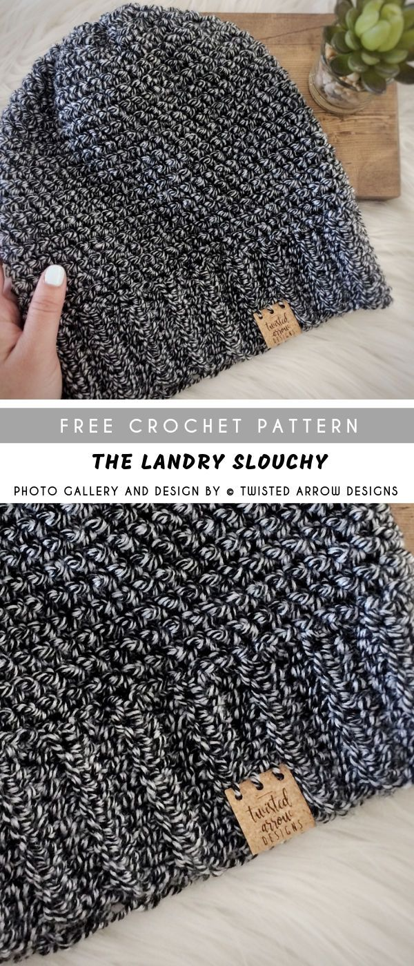 The Landry Crochet Slouchy with Free Pattern