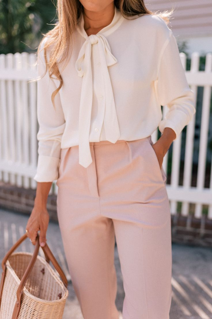The Perfect Pink Workwear Pants