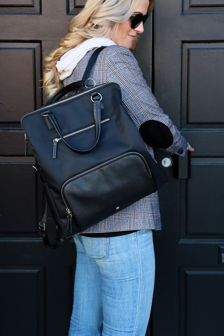 The Perfect Travel Purse + Backpack