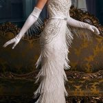 These Incredible Wedding Gowns Will Bring Out Your Inner Flapper Girl #dresses