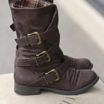 Three Roads Three Buckle Mid-Calf Boot