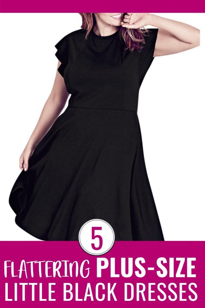Top 5 Plus-Size Little Black Dresses