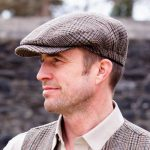 Traditional Irish Golf Flat Cap - Made in Ireland - Your Lucky Irish Hat