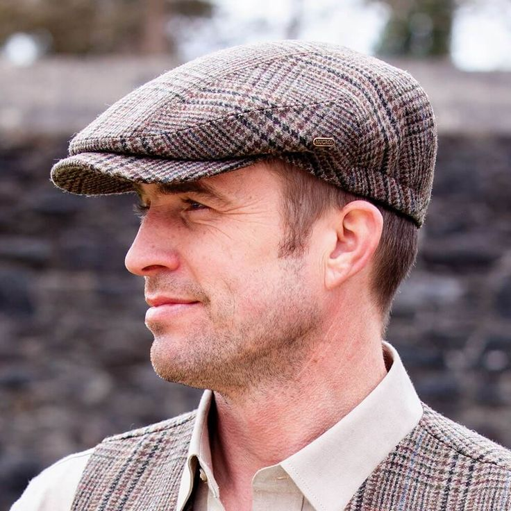 Traditional Irish Golf Flat Cap – Made in Ireland – Your Lucky Irish Hat