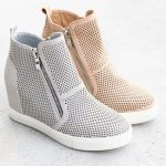 Trendy Sneaker Wedges