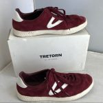 Treton Camden 3 Casual Sneakers in Wine Signature Tretorn sneaker style gets a m...