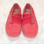 Tretorn Red Eco Ortholite Slip-On Sneakers-6 Tretorn Red Eco Ortholite Slip-On S...