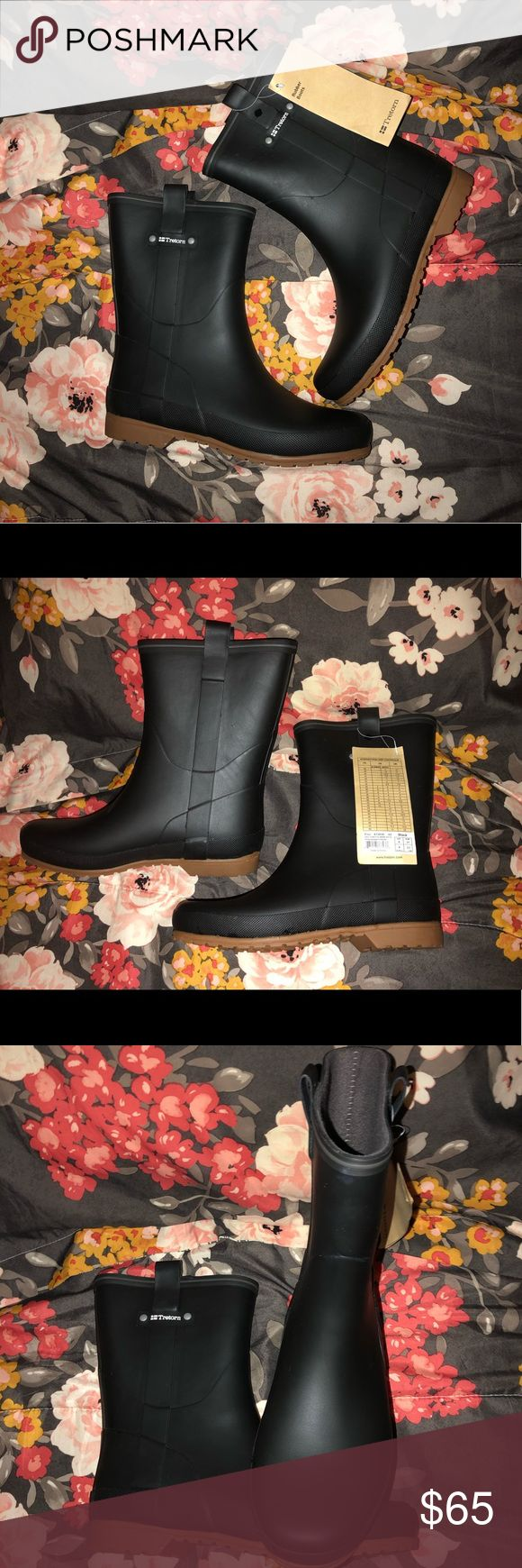 Tretorn rain boots NWT Brand new. Never worn!  Woman's size 7 Tretorn Shoes Wi…
