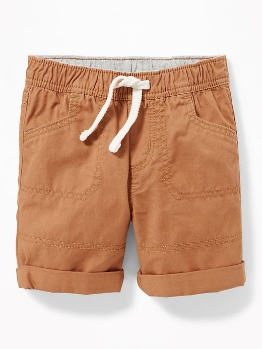 Twill Utility Shorts for Baby