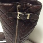 """Vince Camuto Boots Size 8W Size 8W Very Comfortable  Quilted """"leather"""" Zippe..."""