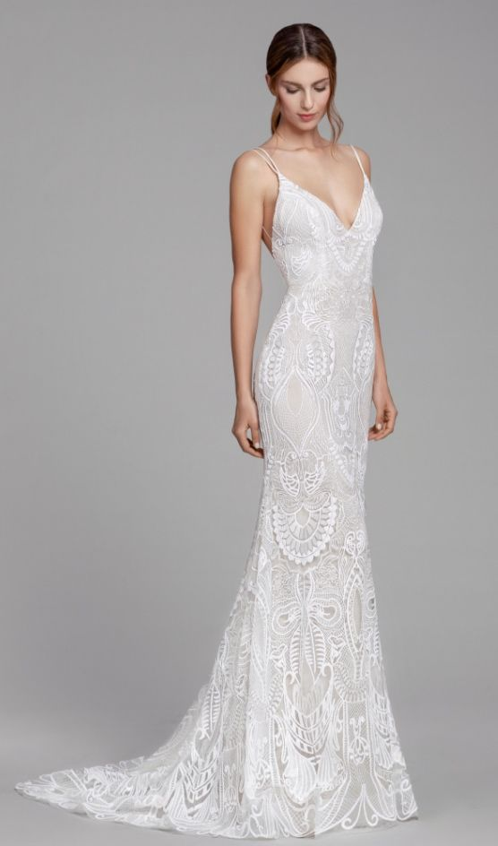 Wedding Dress Inspiration – Tara Keely by Lazaro from JLM Couture