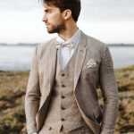 Wedding suits men brown vintage groom Ideas