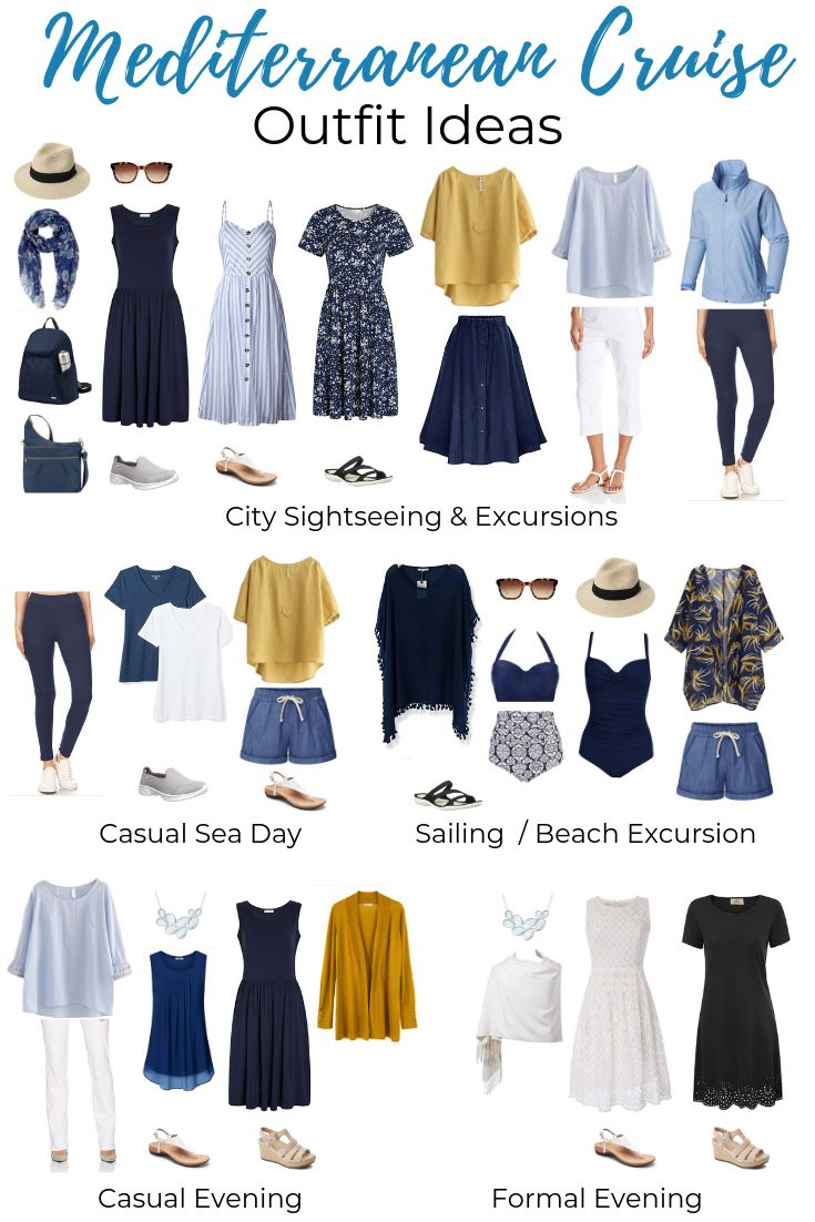 What to Pack for a Mediterranean Cruise – Packing List & Outfit Ideas!