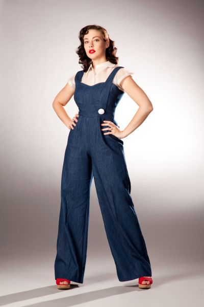 What to wear with jeans jumpsuit 50+ best outfits
