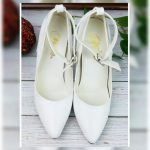 White Anklestrap Heels Very cute great used condition! They are several years ol...