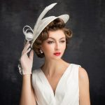 White Party Sinamay Hats For Wedding British Style Ladies Vintage Formal Dress Ladies Fedora Kentucky Derby Church Hat Women M95 [orc32960443057] - $58.52 : PopNobility