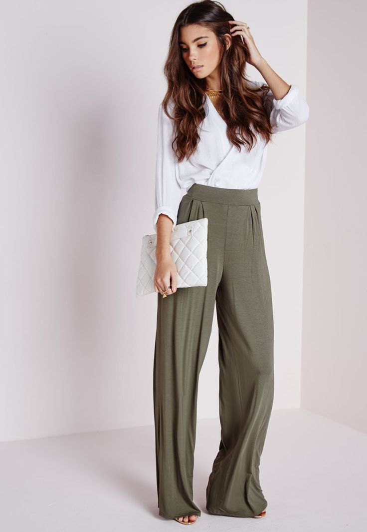 Wide leg trousers for your loved one