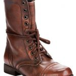 Women's Troopa Combat Leather Boots