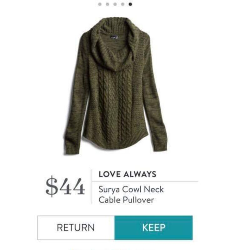 Would love this in some shade of red, burgundy or navy…so pretty with the cowl…