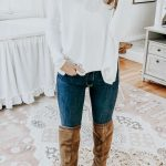 How to Style OTK Boots 20 Ways