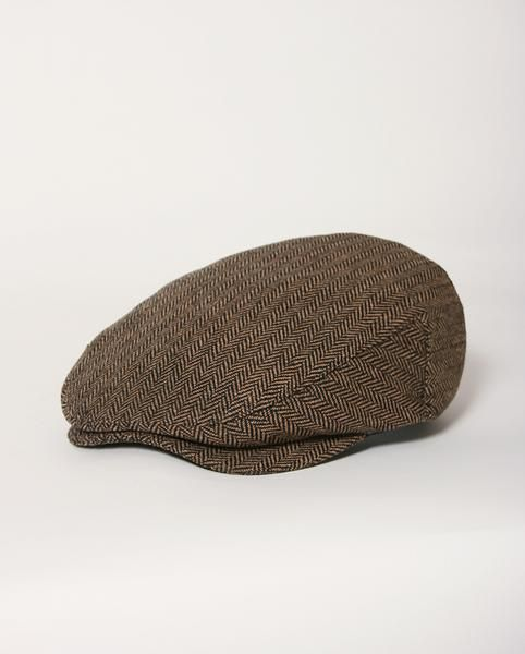 Brixton Hats – Hooligan Snap Cap Brown Khaki – S