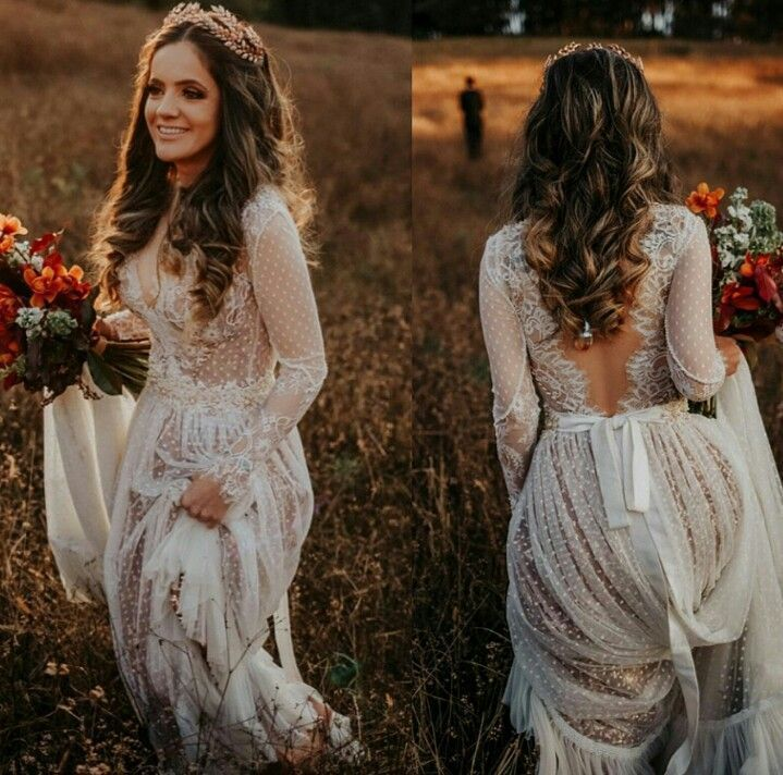 30+ Tempting Bohemian Wedding Dresses You Can't Say No to
