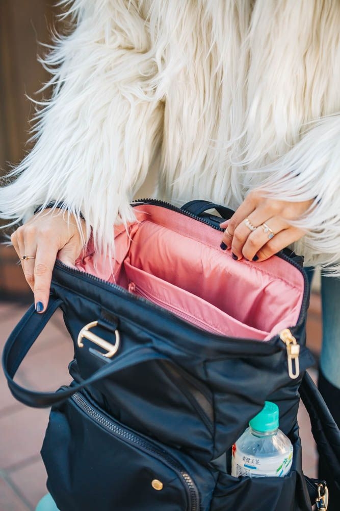 The Most Stylish Anti-Theft Travel Backpack for Women