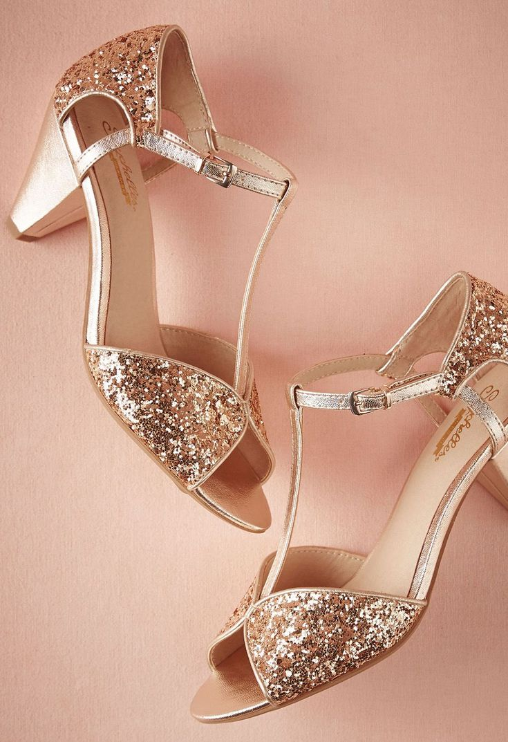 35 Gorgeous Pairs of Rose Gold Wedding Shoes To Try