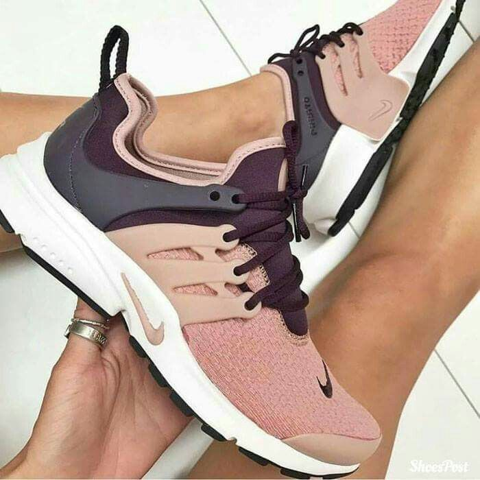 blush, plum and gray nikes for women unique running shoes Pinterest: Arden