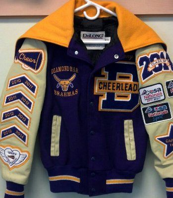 letterman jacket patch placement – Google Search