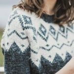 like a fair isle sweater mixed with a scandinavian pattern.