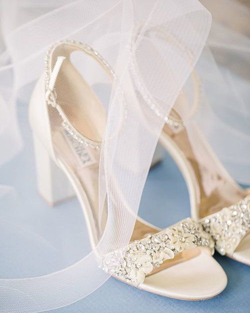 wedding shoes | Badley Mischika Shoes | Ivory wedding shoes |